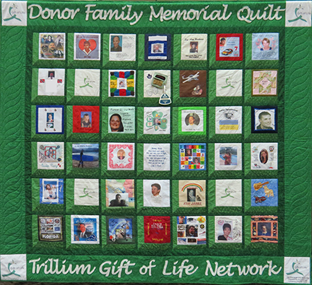TGLN Donor Family Quilt