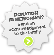 Donation in Memoriam?